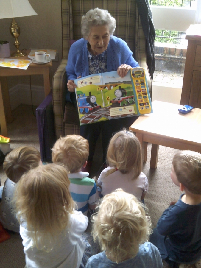 weekly visits to St.Josephs residential home 6