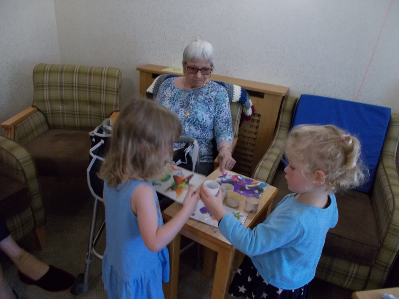 weekly visits to St.Josephs residential home 4