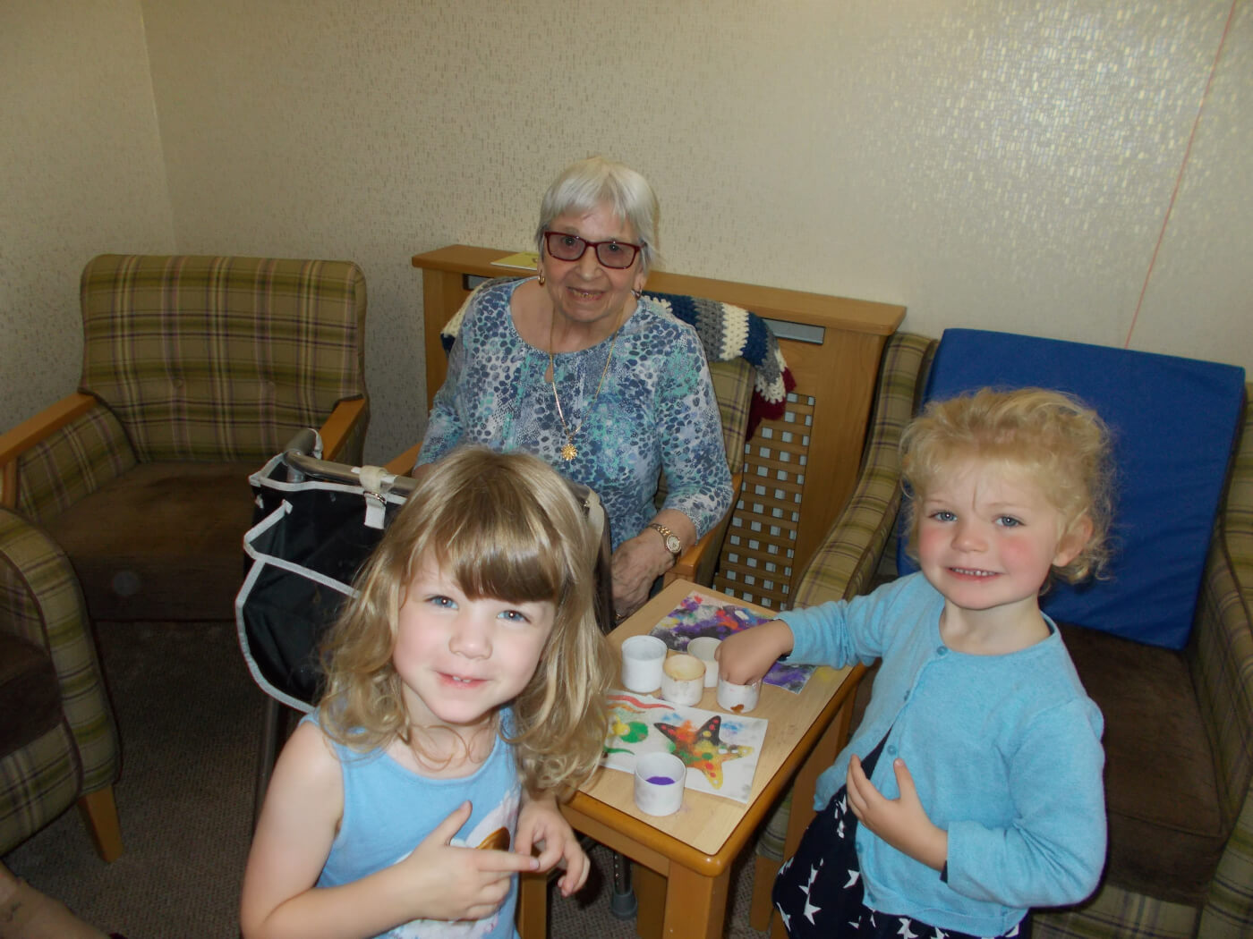 weekly visits to St.Josephs residential home 3