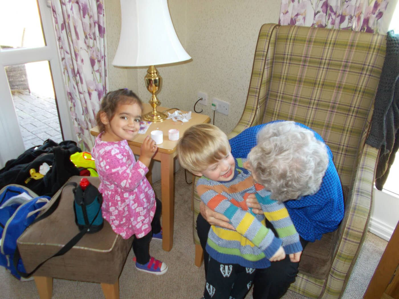 weekly visits to St.Josephs residential home 2