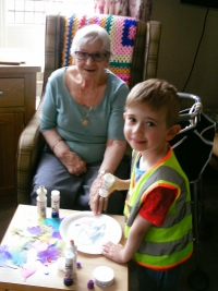 weekly visits to St.Josephs residential home 1